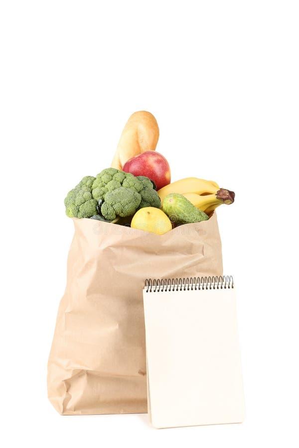 Τσάντα αγορών παντοπωλείων στοκ εικόνες με δικαίωμα ελεύθερης χρήσης