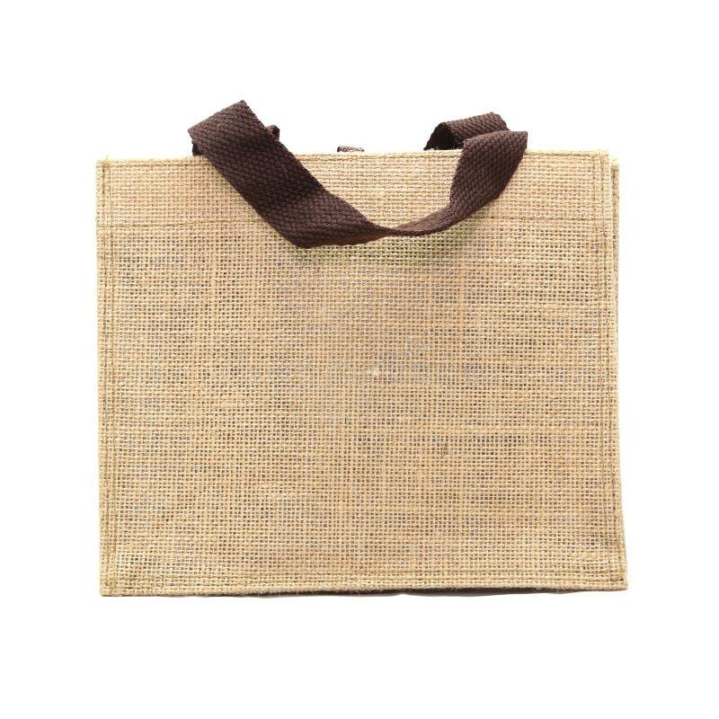 Τσάντα αγορών που γίνεται από τον ανακυκλωμένο σάκο στοκ εικόνες με δικαίωμα ελεύθερης χρήσης