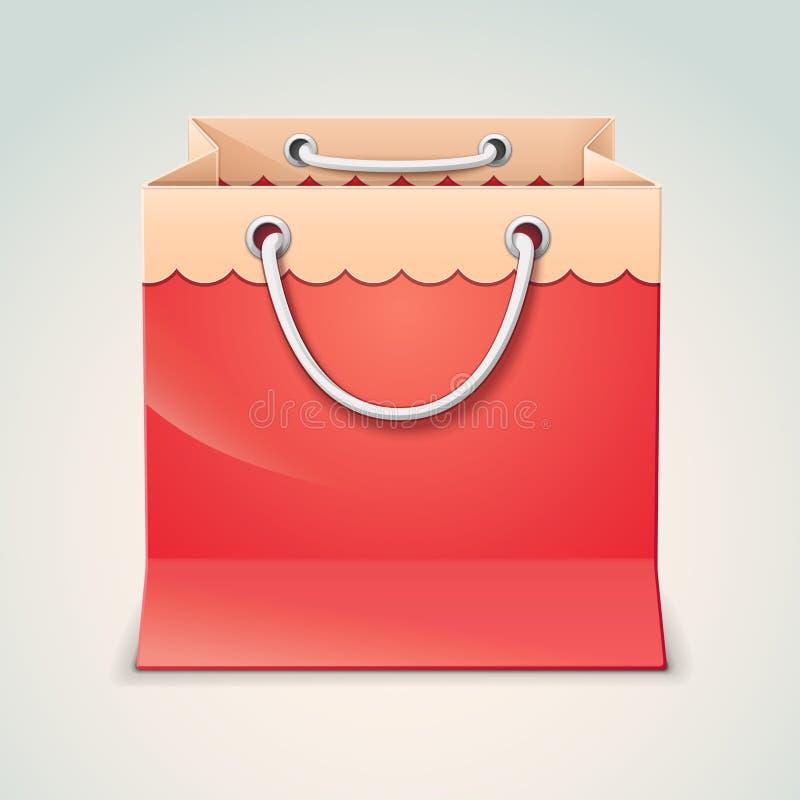 Τσάντα αγορών δώρων απεικόνιση αποθεμάτων