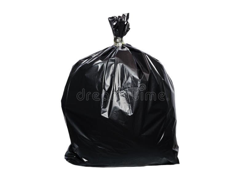 τσάντα απορριμμάτων που απομονώνεται στοκ φωτογραφία