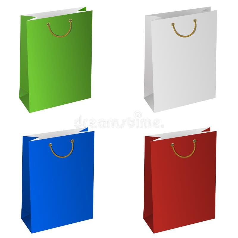 Τσάντα εγγράφου απεικόνιση αποθεμάτων