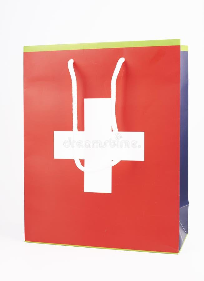 τσάντα Ελβετός στοκ εικόνα με δικαίωμα ελεύθερης χρήσης