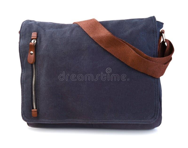Τσάντα που απομονώνεται υφαντική στοκ εικόνες