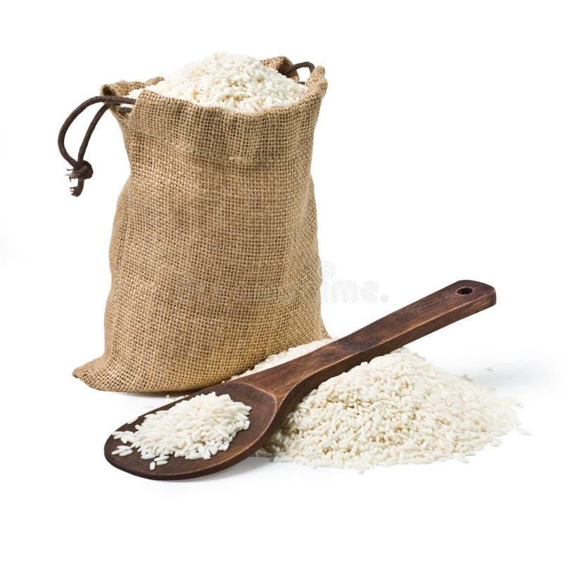 Τσάντα του ρυζιού στοκ εικόνες με δικαίωμα ελεύθερης χρήσης