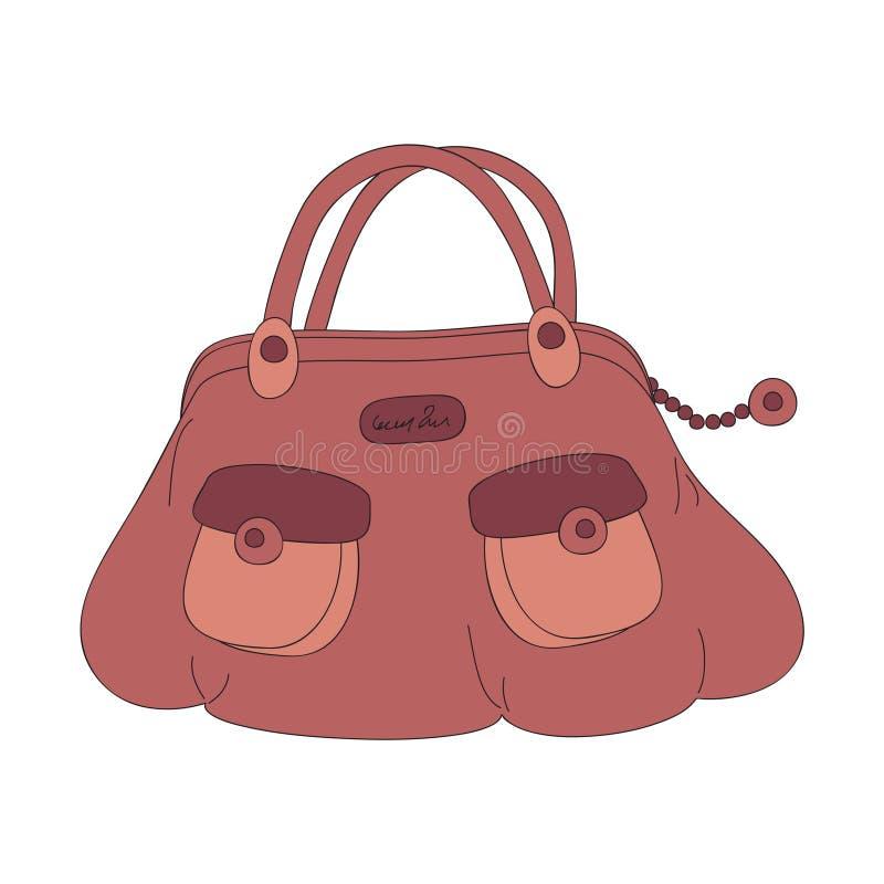 τσάντα διανυσματική απεικόνιση