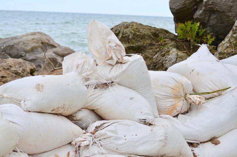 Τσάντες άμμου στοκ φωτογραφίες με δικαίωμα ελεύθερης χρήσης