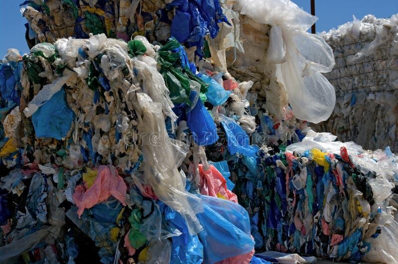 τσάντες που ανακυκλώνο&ups στοκ εικόνα με δικαίωμα ελεύθερης χρήσης