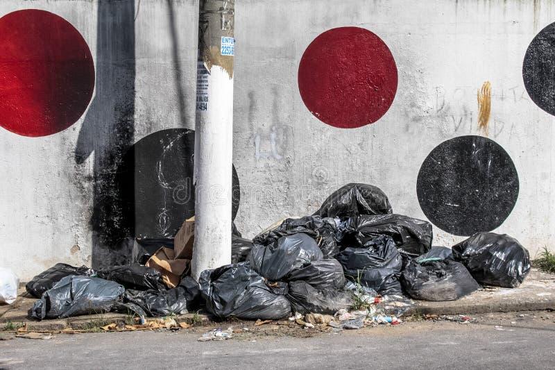 Τσάντες των απορριμμάτων στοκ φωτογραφία με δικαίωμα ελεύθερης χρήσης