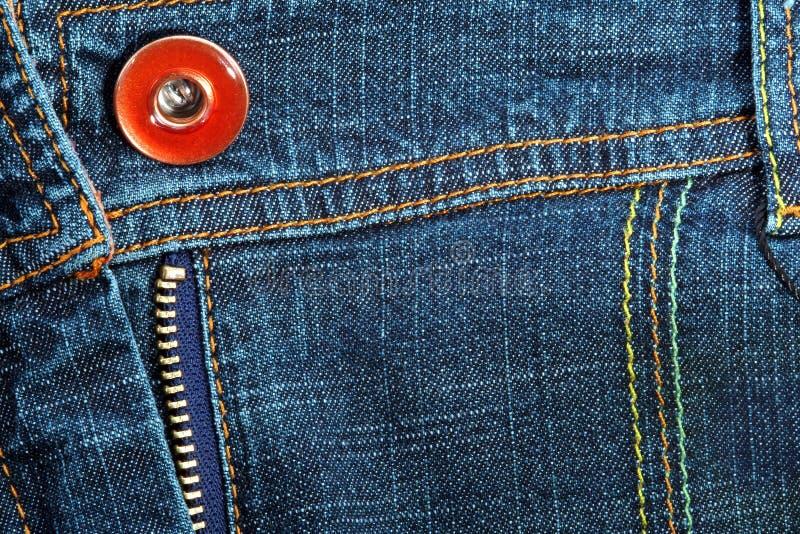 τσέπη τζιν υφάσματος Στοκ φωτογραφία με δικαίωμα ελεύθερης χρήσης