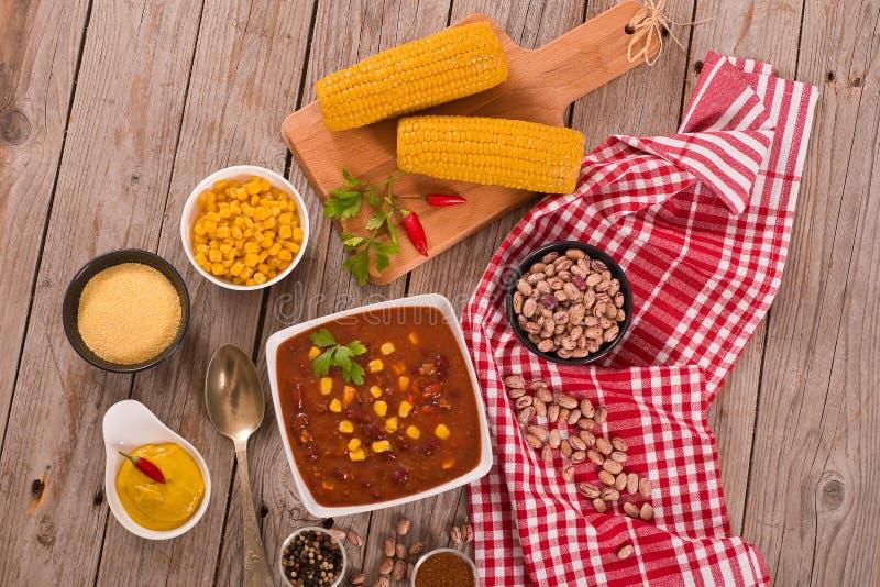 Τσίλι βόειου κρέατος στοκ εικόνα με δικαίωμα ελεύθερης χρήσης