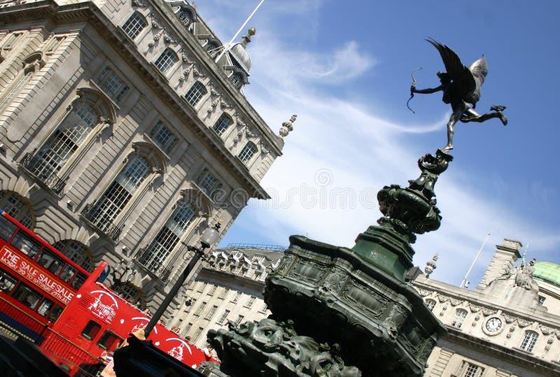 τσίρκο Αγγλία Λονδίνο piccadilly στοκ εικόνα