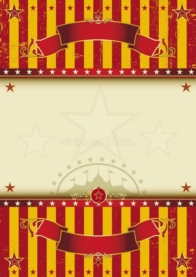 Τσίρκο υποβάθρου απεικόνιση αποθεμάτων