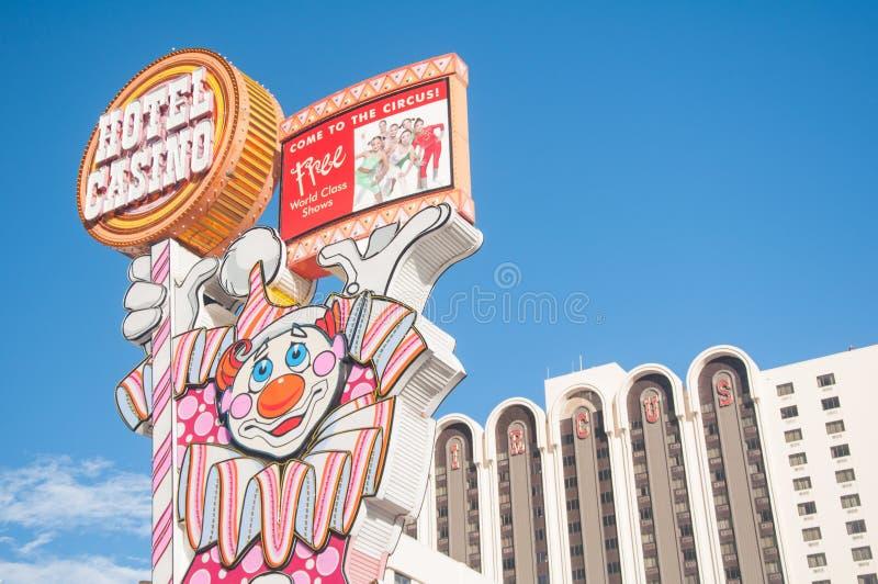 Τσίρκο Reno τσίρκων στοκ εικόνα