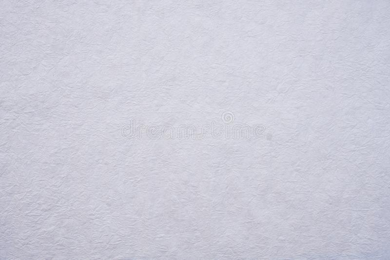 Τσαλακωμένο άσπρο υπόβαθρο σύστασης εγγράφου μουριών στοκ φωτογραφία με δικαίωμα ελεύθερης χρήσης