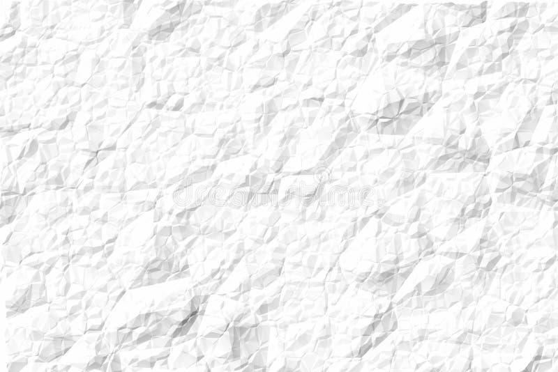 τσαλακωμένο έγγραφο απεικόνιση αποθεμάτων