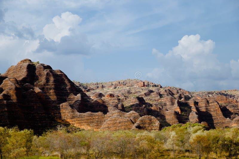 Τσαπατσουλιά τσαπατσουλιάς - εθνικό πάρκο Purnululu - Αυστραλία στοκ εικόνες
