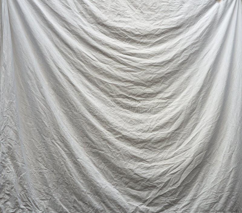 Τσαλακωμένο ύφασμα φύλλων backgound - τραχύς, χονδροειδής, στοκ εικόνα με δικαίωμα ελεύθερης χρήσης