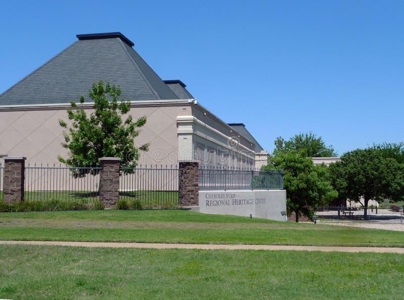 Τσερόκι κεντρικό μουσείο κληρονομιάς λουρίδων περιφερειακό στοκ φωτογραφία με δικαίωμα ελεύθερης χρήσης