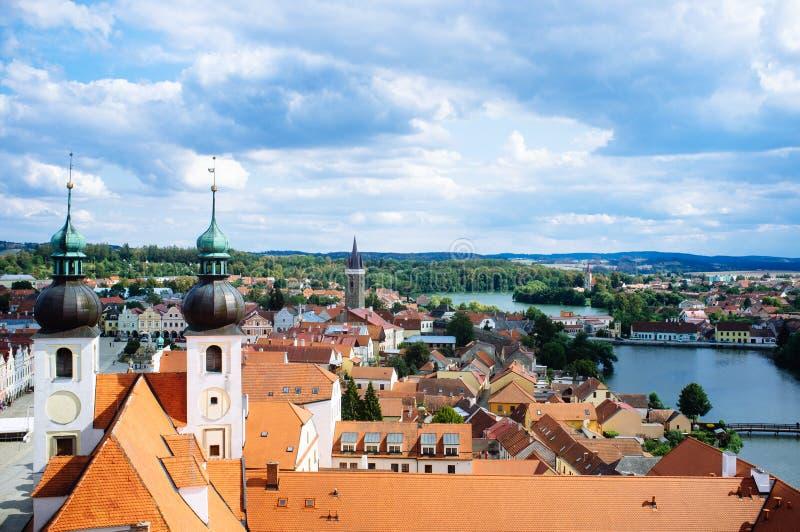 """Τσεχία Μοραβία - ορίζοντας 2 Telc """" στοκ φωτογραφία"""