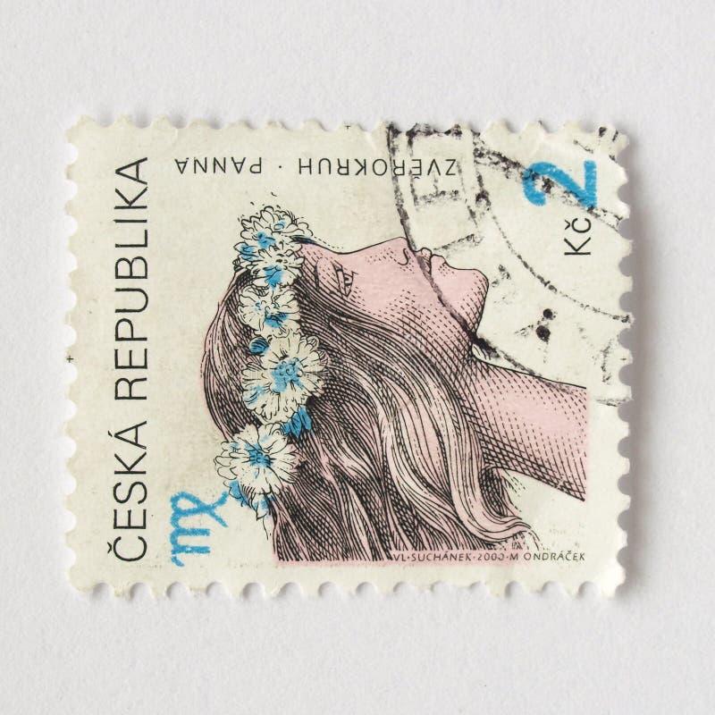 τσεχικά γραμματόσημα στοκ φωτογραφίες με δικαίωμα ελεύθερης χρήσης