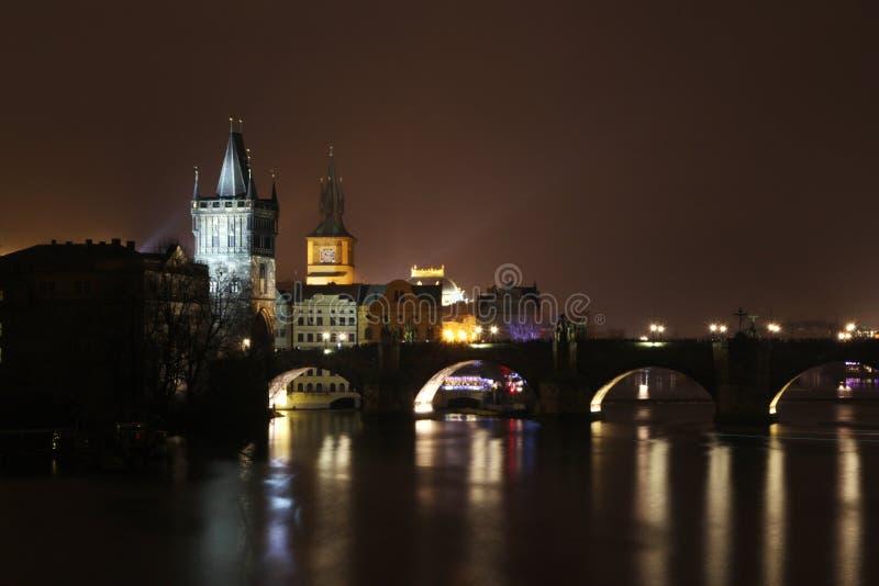 τσεχική Πράγα γεφυρών δημοκρατία Charles στοκ εικόνες