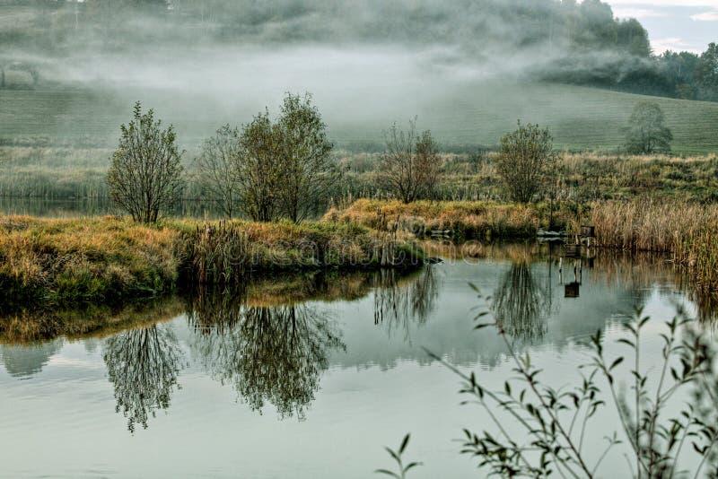Τσεχική φύση φθινοπώρου στοκ εικόνες με δικαίωμα ελεύθερης χρήσης