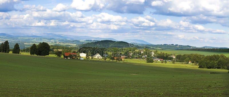 τσεχικό τοπίο στοκ φωτογραφία