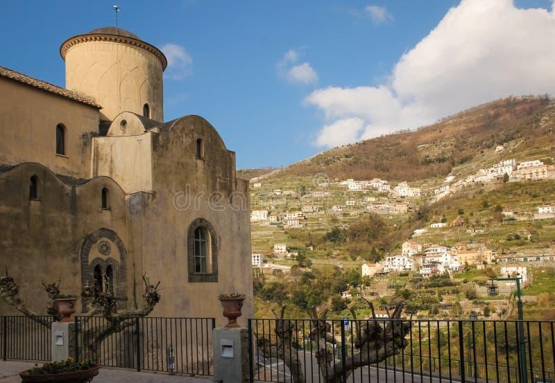 Τσιέσα της Σάντα Μαρία α Γκραντίλο Ραβέλο Καμπανία Ιταλία στοκ φωτογραφία