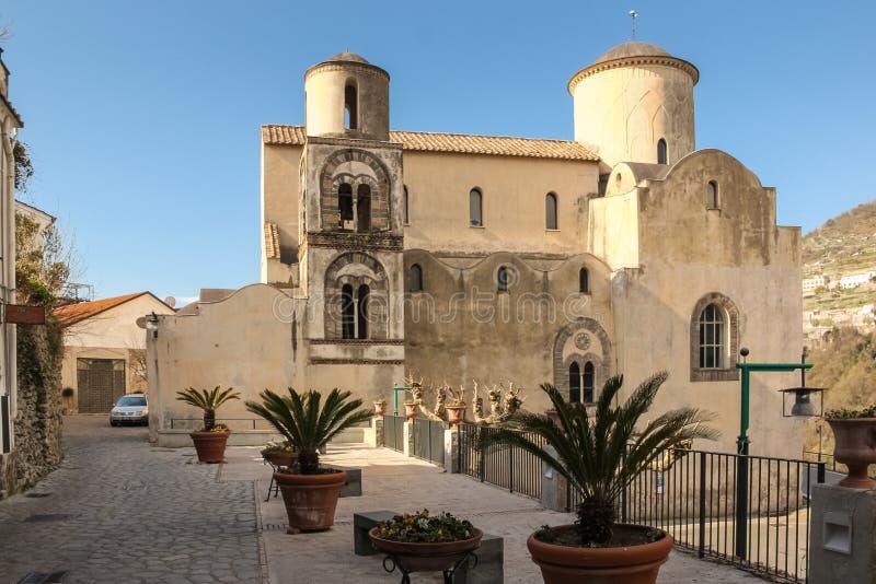 Τσιέσα της Σάντα Μαρία α Γκραντίλο Ραβέλο Καμπανία Ιταλία στοκ εικόνες