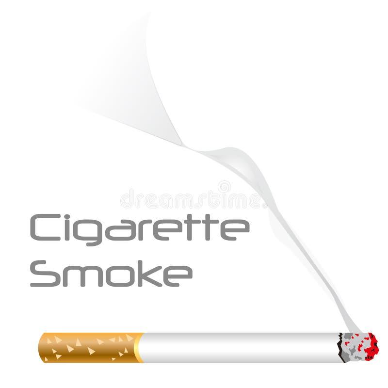 Τσιγάρο και καπνός στοκ φωτογραφίες