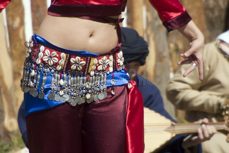 τσιγγάνος χορευτών στοκ εικόνα με δικαίωμα ελεύθερης χρήσης