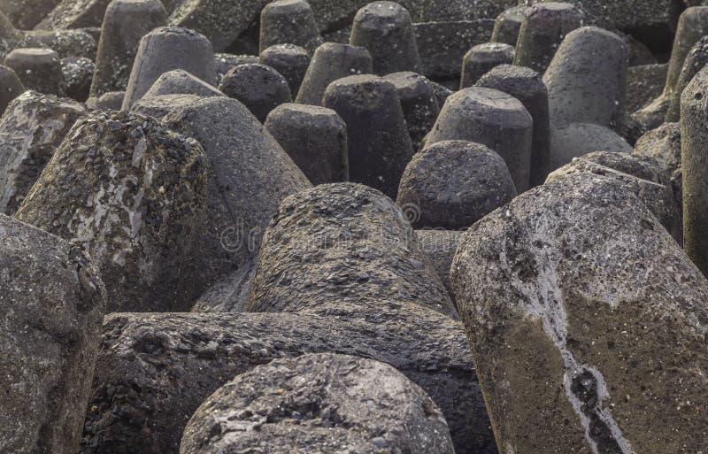 Τσιμεντένιοι ογκόλιθοι στοκ φωτογραφίες