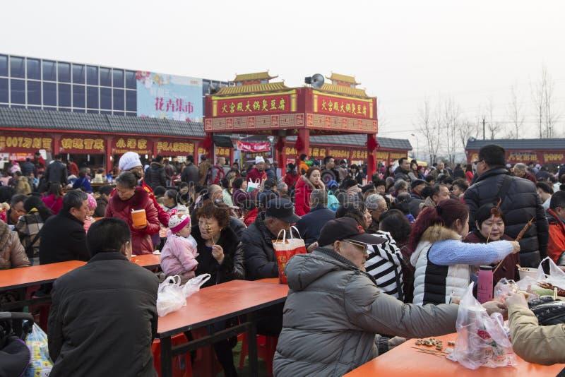 Τσιμπά το 2016 το φεστιβάλ φαναριών, chengdu, Κίνα στοκ εικόνα