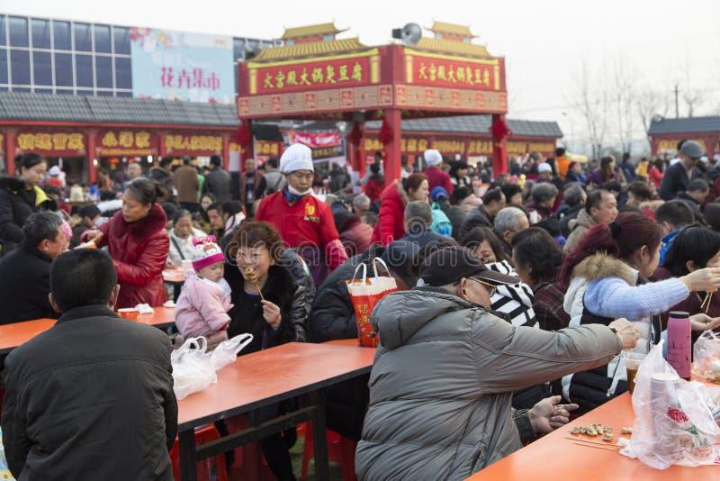 Τσιμπά το 2016 το φεστιβάλ φαναριών, chengdu, Κίνα στοκ φωτογραφίες