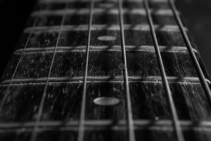 Τσιμπήματα κιθάρων στοκ φωτογραφία με δικαίωμα ελεύθερης χρήσης