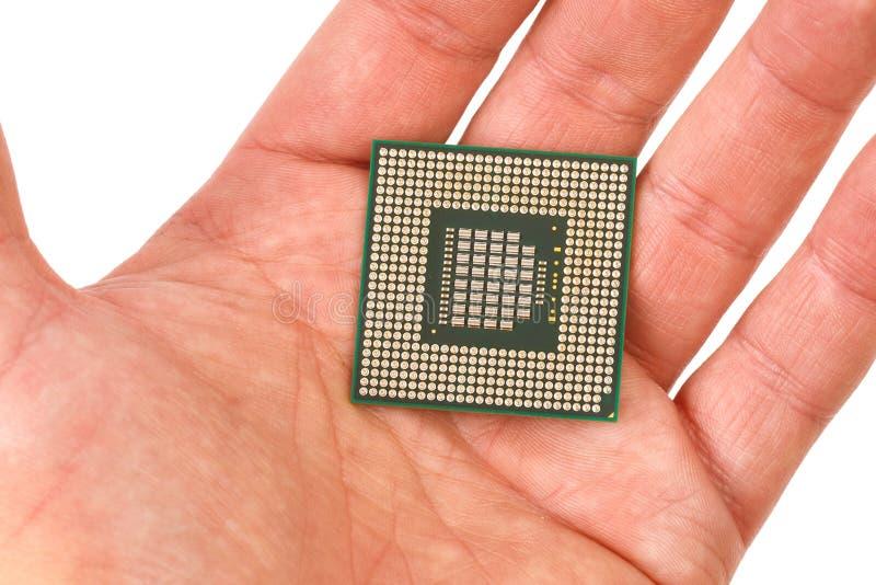 Τσιπ επεξεργαστών υπολογιστών στοκ εικόνα