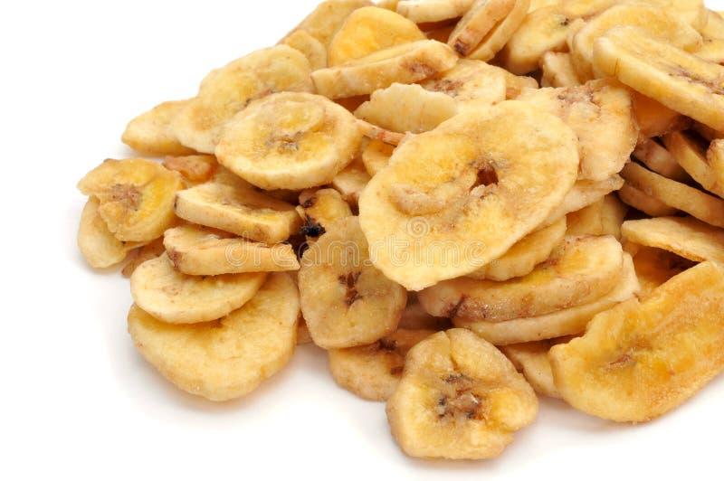 Τσιπ μπανανών στοκ εικόνα