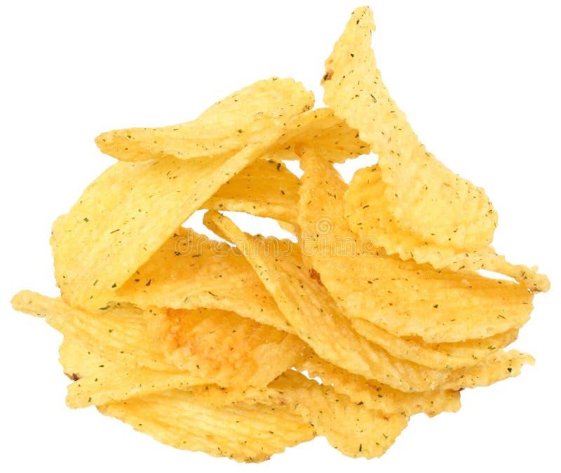 Τσιπ πατατών. στοκ εικόνα