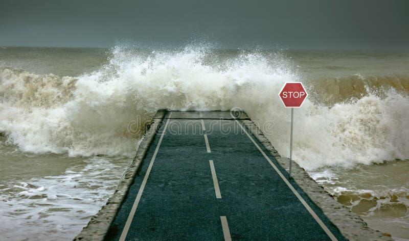 τσουνάμι διανυσματική απεικόνιση