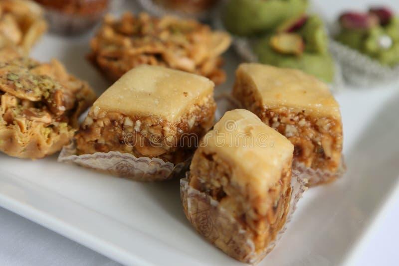 Τυνησιακά γλυκά - baklawa στοκ φωτογραφία με δικαίωμα ελεύθερης χρήσης