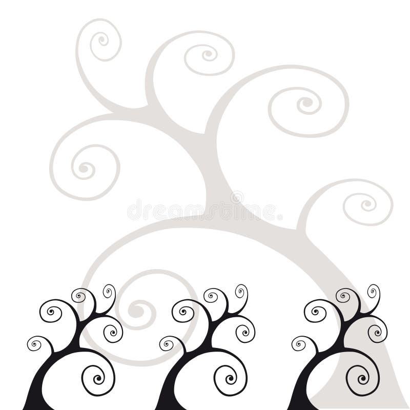 τυποποιημένα δέντρα απεικόνιση αποθεμάτων