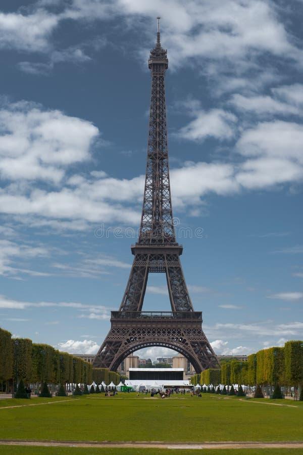 τυποποιημένος πύργος ουρανού του Άιφελ στοκ φωτογραφίες με δικαίωμα ελεύθερης χρήσης