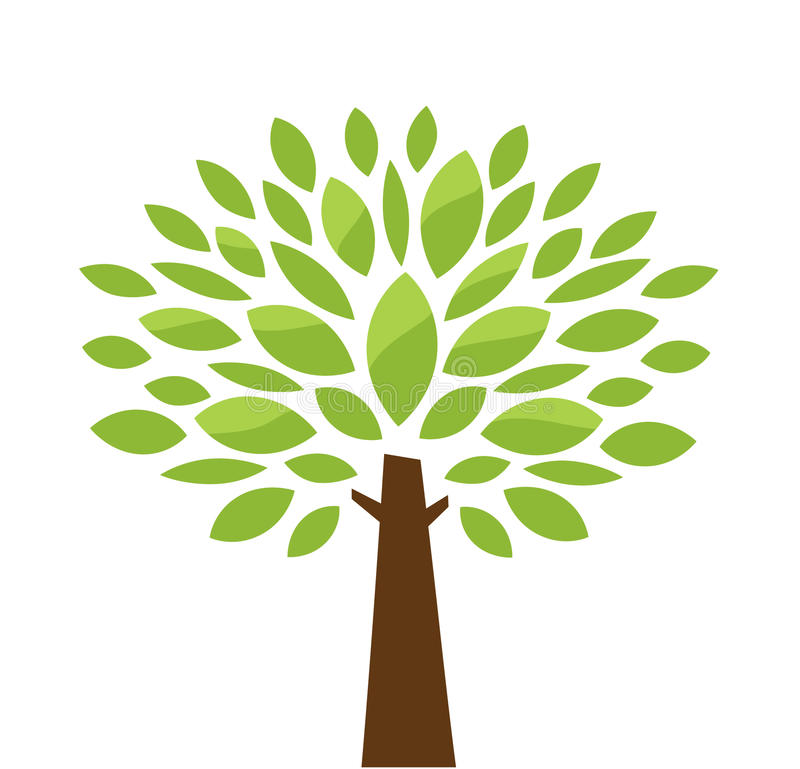 τυποποιημένο δέντρο ελεύθερη απεικόνιση δικαιώματος