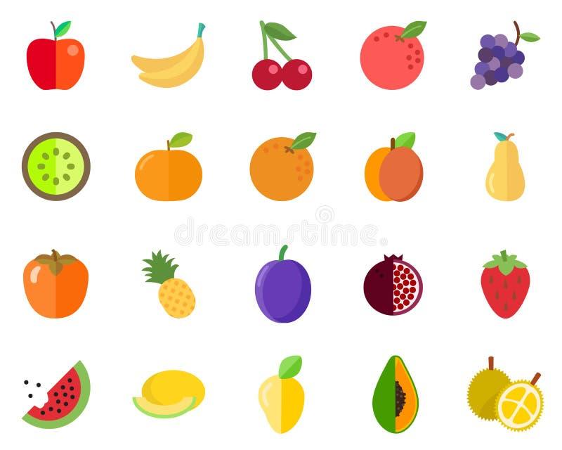 Τυποποιημένο πακέτο φρούτων απεικόνιση αποθεμάτων