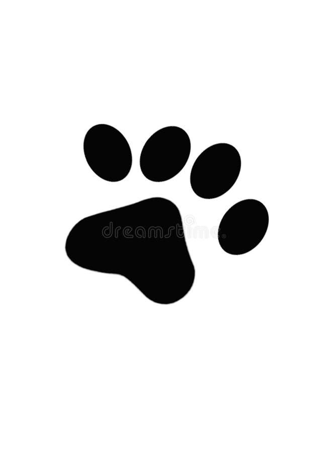 τυπωμένη ύλη σκυλιών απεικόνιση αποθεμάτων