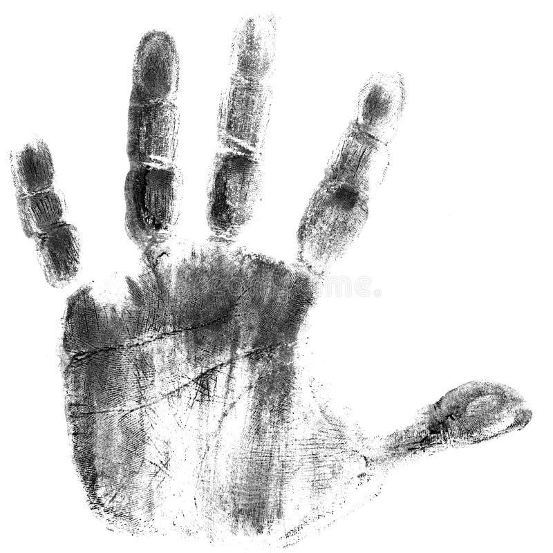 τυπωμένη ύλη χεριών στοκ φωτογραφίες