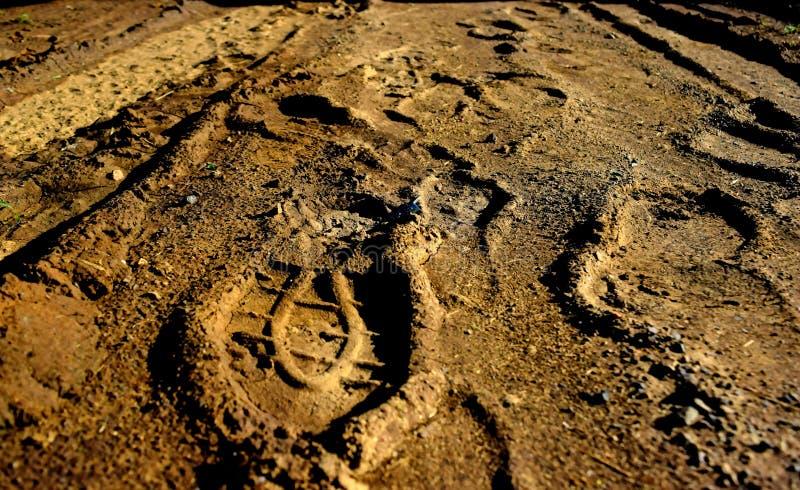 Τυπωμένη ύλη ποδιών στοκ φωτογραφίες με δικαίωμα ελεύθερης χρήσης