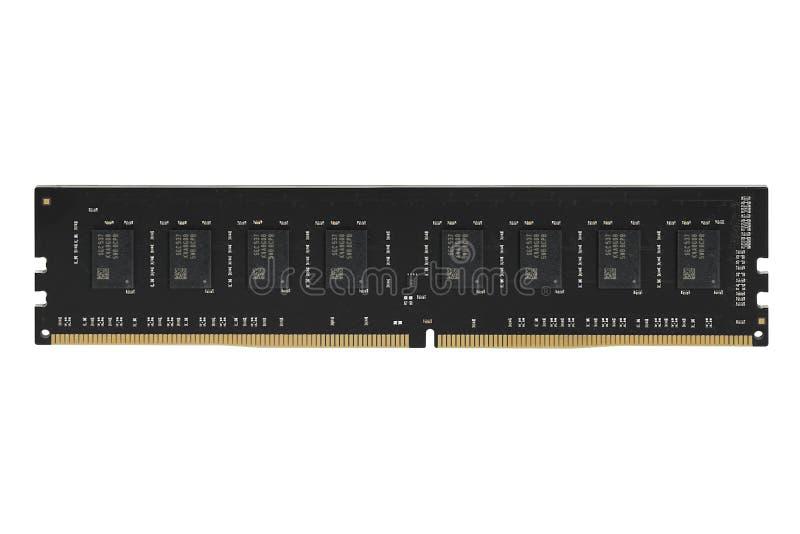 Τυπωμένο PCB πινάκων κυκλωμάτων με, ολοκληρωμένα κυκλώματα, και αντιστάτες RAM μνήμης στοκ φωτογραφία με δικαίωμα ελεύθερης χρήσης