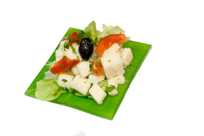 τυρί απεριτίφ στοκ εικόνα
