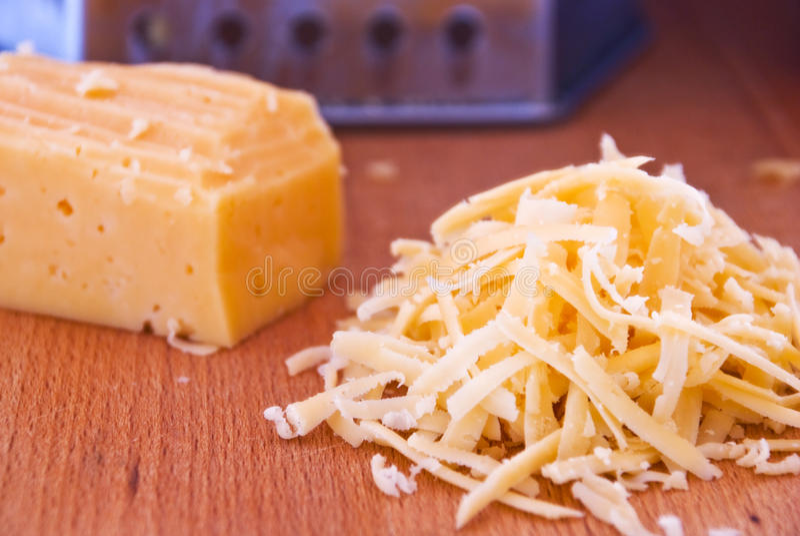 τυρί που ξύνεται στοκ φωτογραφία
